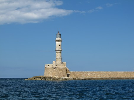 Chania Crete light house