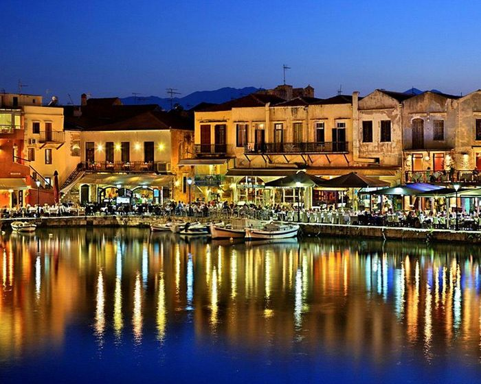 Chania Crete Venetian harbour